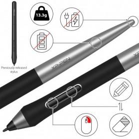 XP-Pen Deco Pro Medium Graphics Digital Drawing Tablet with Passive Pen - Black - 5