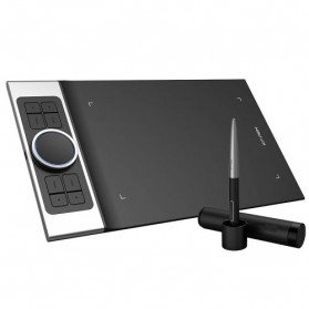 XP-Pen Deco Pro Medium Graphics Digital Drawing Tablet with Passive Pen - Black - 9