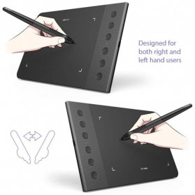 XP-Pen Star G640S Graphics Digital Drawing Tablet with Passive Pen - Black - 6