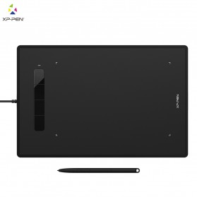 XP-Pen Star G960 Graphics Digital Drawing Tablet with Passive Pen - Black