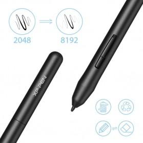 XP-Pen Star 03 V2 Graphics Digital Drawing Tablet with Passive Pen - Black - 3