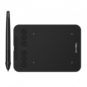 XP-Pen Deco Mini4 Graphics Digital Drawing Tablet for PC Mac Android with Passive Pen P05D - Black - 2