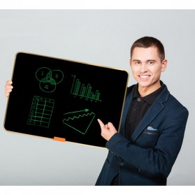 Wicue LCD Blackboard Digital Drawing Tablet Papan Gambar 28 Inch - W2801 - Black