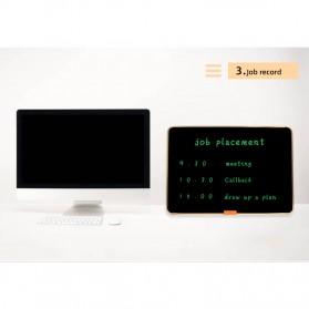 Wicue LCD Blackboard Digital Drawing Tablet Papan Gambar 28 Inch - W2801 - Black - 10