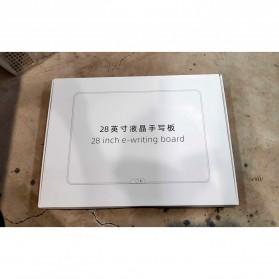 Wicue LCD Blackboard Digital Drawing Tablet Papan Gambar 28 Inch - W2801 - Black - 11