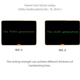 Wicue LCD Blackboard Digital Drawing Tablet Papan Gambar 28 Inch - W2801 - Black - 3