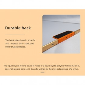 Wicue LCD Blackboard Digital Drawing Tablet Papan Gambar 28 Inch - W2801 - Black - 5