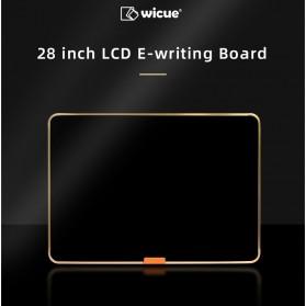 Wicue LCD Blackboard Digital Drawing Tablet Papan Gambar 28 Inch - W2801 - Black - 6
