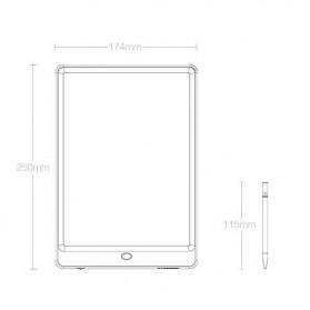 Wicue Papan Gambar LCD Digital Pen Tablet 10 Inch Monochrome - WS210 - Green - 10