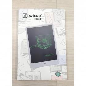 Wicue Papan Gambar LCD Digital Pen Tablet 10 Inch Monochrome - WS210 - Green - 11