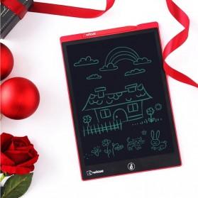 Xiaomi Youpin Wicue Papan Gambar LCD Digital Pen Tablet 12 Inch Colorful Version - WNB412 - Red - 2