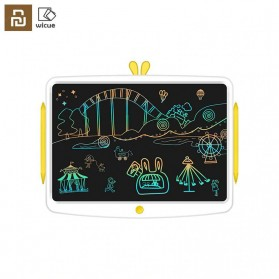 Wicue Papan Gambar Colorful LCD Digital Pen Tablet 16 Inch - WNB416W - White