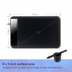 XP-Pen Smart Graphics Drawing Pen Tablet Rainbow Series - Star 01 - Black - 2