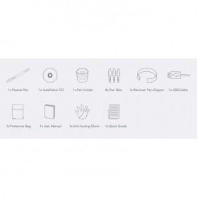 XP-Pen Smart Graphics Drawing Pen Tablet Rainbow Series - Star 01 - Black - 8