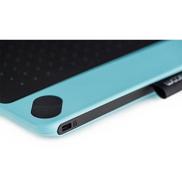 Wacom Intuos Draw Creative Pen Tablet Ctl 490 Blue