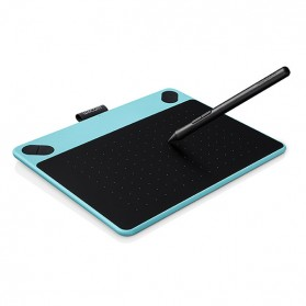 Pen Tablet / Graphic Tablet - Wacom Intuos Comic Creative Pen Tablet - CTH-490 - Blue