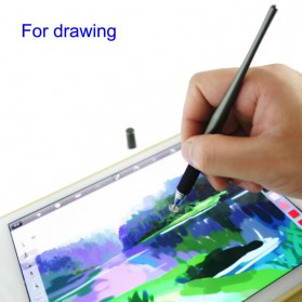 Capacitive Touch Screen Stylus Drawing Pen 2 in 1 - CYX-3604 - Black - 3
