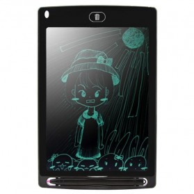 Papan Gambar Digital LCD Drawing Graphics Tablet 8.5 Inch - DZ0058 - Black