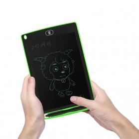 Papan Gambar Digital LCD Drawing Graphics Tablet 8.5 Inch - DZ0058 - Black - 6