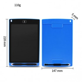 Papan Gambar Digital LCD Drawing Graphics Tablet 8.5 Inch - DZ0058 - Black - 9