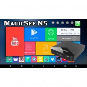 MAGICSEE N5 Mini Smart TV Box Android 7.1 4K 2/16GB - Black - 3