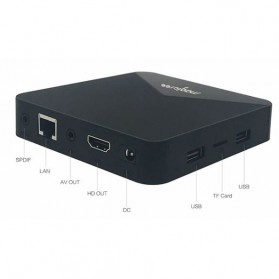 MAGICSEE N5 Mini Smart TV Box Android 7.1 4K 2/16GB - Black - 9
