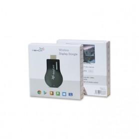 Yehua AnyCast Chromecast Airplay DLNA HDMI Dongle Wifi 1080P - M9 - Black - 6