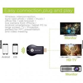 Yehua AnyCast Chromecast Airplay DLNA HDMI Dongle Wifi 4K 5G - K8 - Black - 6