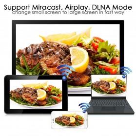 Yehua AnyCast Chromecast Airplay DLNA HDMI Dongle Wifi 1080P - M4 Plus - Black - 4