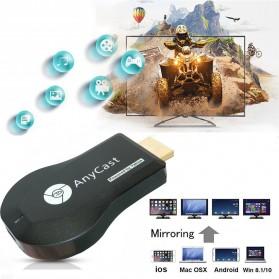 Yehua AnyCast Chromecast Airplay DLNA HDMI Dongle Wifi 1080P - M4 Plus - Black - 6
