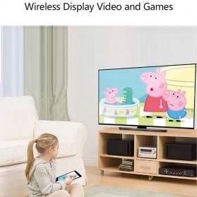 AnyCast Chromecast Airplay DLNA HDMI Dongle WiFi Dual Core 4K HD 2.4GHz - M100 - Black - 5
