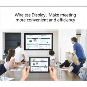 AnyCast Chromecast Airplay DLNA HDMI Dongle WiFi Dual Core 4K HD 2.4GHz - M100 - Black - 6