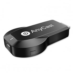 HD Media Player Xtreamer - AnyCast Chromecast Airplay DLNA HDMI Dongle WiFi Dual Core 4K HD 5GHz - M100 - Black