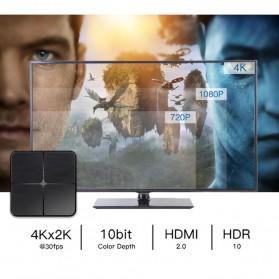 SZBOX Smart TV Box 1GB 8GB 4K Wifi Android 7.1 - T96 Mini - Black - 8