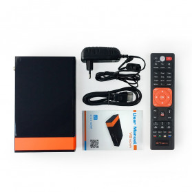 Gtmedia V8 Nova Smart Digital Satellite TV Box Receiver 1080P DVB-S2 - Black - 5