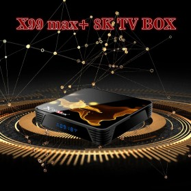 XGODY Smart TV Box 8K Android 9.0 4GB 32GB - X99 Max+ - Black - 5