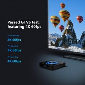 DQiDianZ Mini Smart TV Box 4K HDR Android 10 4GB 32GB - X96Q Max - Black - 2