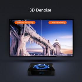 DQiDianZ Mini Smart TV Box 4K HDR Android 10 4GB 32GB - X96Q Max - Black - 4