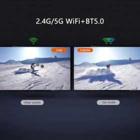 DQiDianZ Mini Smart TV Box 4K HDR Android 10 4GB 32GB - X96Q Max - Black - 9