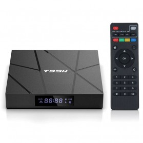 LIHETUN Mini Smart TV Box 6K Android 10 2GB 16GB - T95H - Black