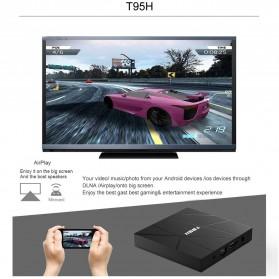 LIHETUN Mini Smart TV Box 6K Android 10 2GB 16GB - T95H - Black - 3
