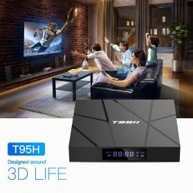 LIHETUN Mini Smart TV Box 6K Android 10 2GB 16GB - T95H - Black - 4