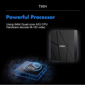 LIHETUN Mini Smart TV Box 6K Android 10 2GB 16GB - T95H - Black - 6