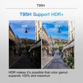 LIHETUN Mini Smart TV Box 6K Android 10 2GB 16GB - T95H - Black - 7