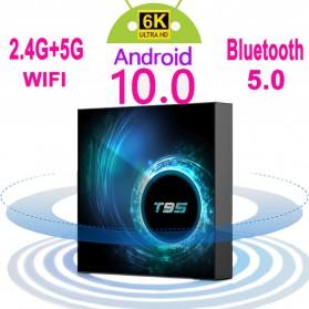 STUOTOP Mini Smart TV Box 6K Android 10 4GB 32GB - T95 - Black