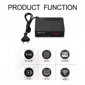 Pantesat Digital TV Tuner Set Top Box WiFi Receiver DVB-T2 - HD-3820 - Black - 5