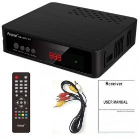 Pantesat Digital TV Tuner Set Top Box WiFi Receiver DVB-T2 - HD-3820 - Black - 7