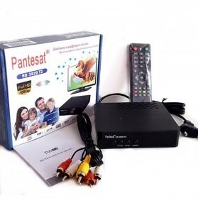 Pantesat Digital TV Tuner Set Top Box WiFi Receiver DVB-T2 - HD-3820 - Black - 8