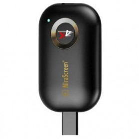 MiraScreen G9 AnyCast Miracast HDMI Dongle Wifi 4K 5G - Black - 2