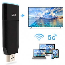 EZCast 2 Wireless Display Receiver Smart TV HDMI Dongle - Black - 9